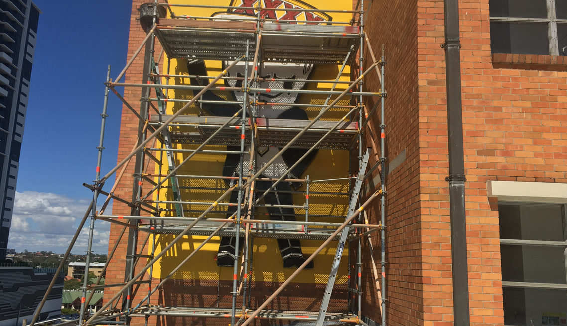 Maintenance Scaffold Work Milton Queensland
