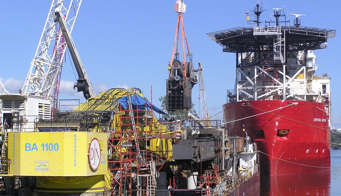 Crystal Ocean Production Ship Scaffolding