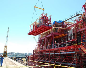 Crystal Ocean Production Ship Scaffolding