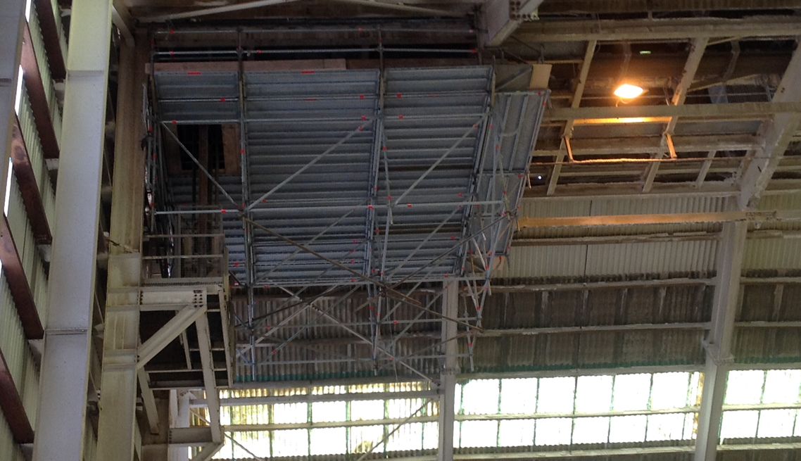 Incitec Pivot Shed Maintenance Scaffolding