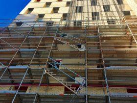 Pullman Hotel Scaffolding